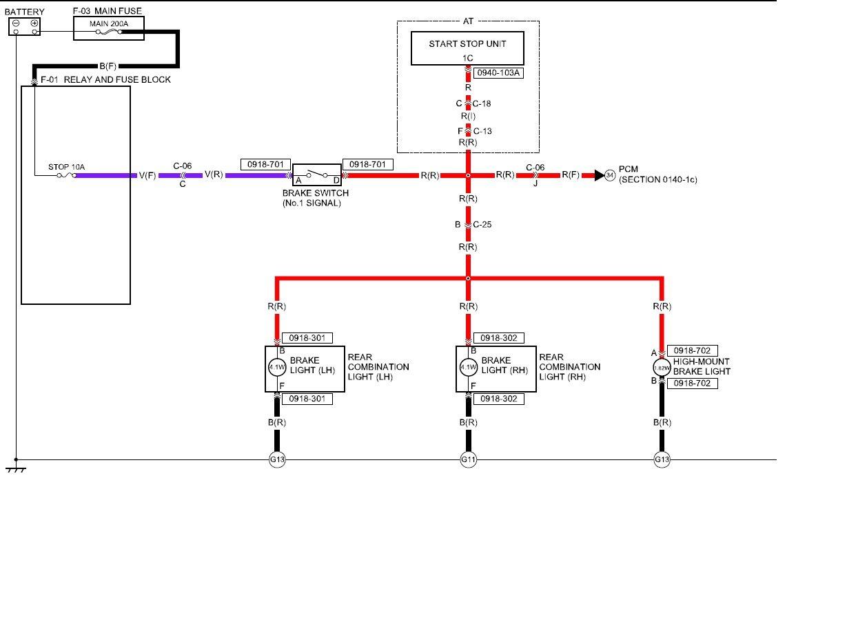 3rd Brake Light Wiring Diagram Fiat 124 Spider Forum