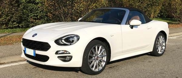Showcase cover image for 2018 Fiat 124 Spider Lusso AT