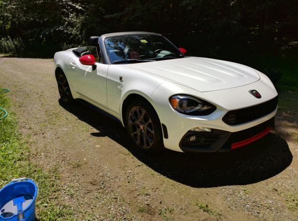 Showcase cover image for steve6225's 2017 Abarth 124 Spider