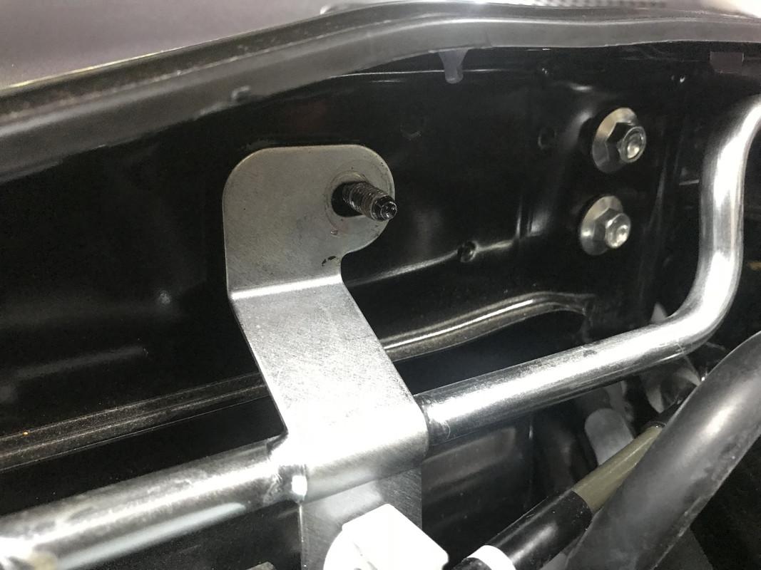 Front Strut Tower Brace Cowl Bracket Install | Fiat 124 Spider Forum