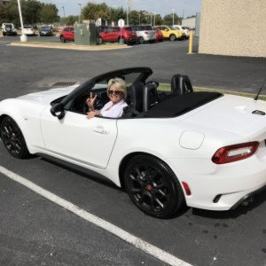 "Our 2017 Abarth 124 Spider ""Pearl"""